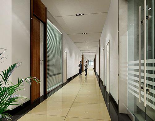 室内走廊效果