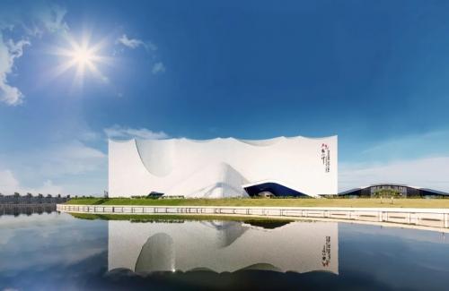中国元素建筑—— 在马来西亚一座标志性剧院