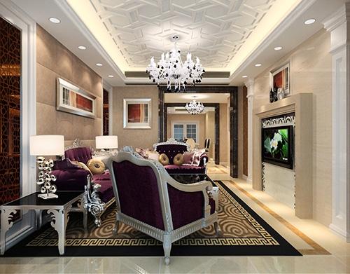 家装客厅设计装饰工程
