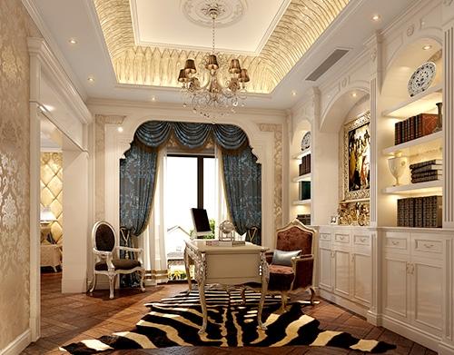 别墅书房装饰设计工程