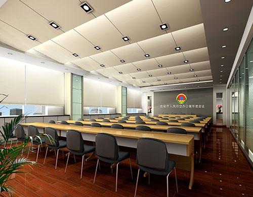 大会议室布局装饰工程