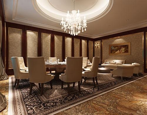 酒店餐厅装饰设计工程